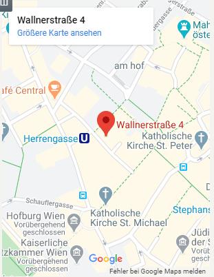Dr. Kristina Venturini und Mag. Larissa Weingaertner-Standort Wien-Handy
