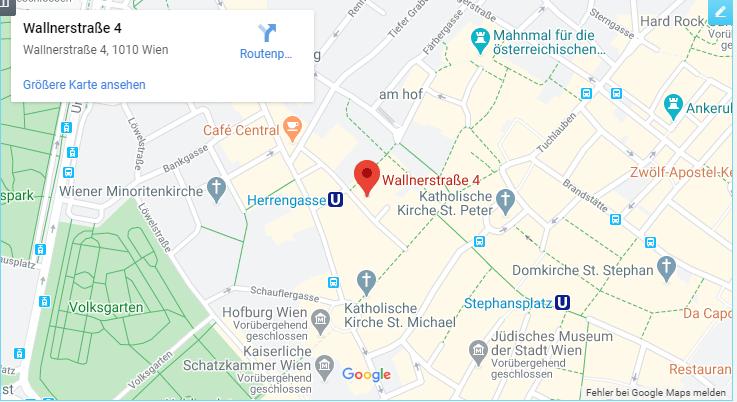 Dr. Kristina Venturini und Mag. Larissa Weingaertner-Standort Wien-Tablet